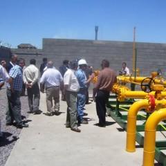 Gasoducto: Se inauguró la obra que le dará un mayor impulso al crecimiento distrital