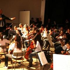 Se realizó el encuentro de orquestas escuela