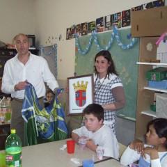 El Intendente visitó el CEC Nº 802 de Salazar