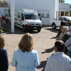 Se entregaron dos nuevas ambulancias a los hospitales del distrito
