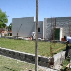 Avanza la construcción del SUM del Jardín Maternal Municipal