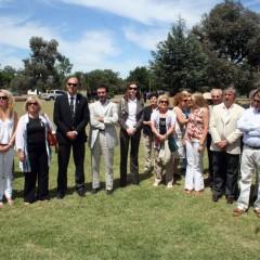 El Intendente recibió al Cónsul Italiano Dr. Pierluiggi Giuseppe Ferraro