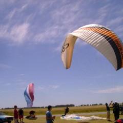 Se llevó a cabo en Daireaux la 1º fecha del 2º Campeonato Regional de Parapente