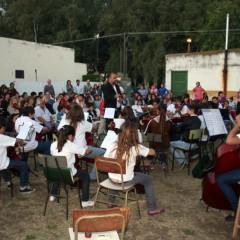 El Intendente Hernando participó del Concierto de fin de año