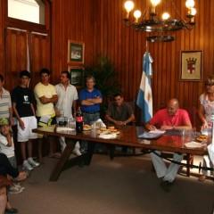 Firmaron contrato de actuación los artistas locales y zonales