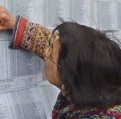Consulta al padrón electoral 2011