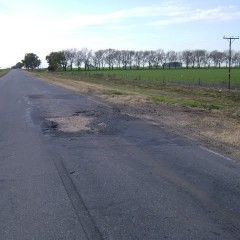 Se licita hoy la repavimentación de la Ruta 65