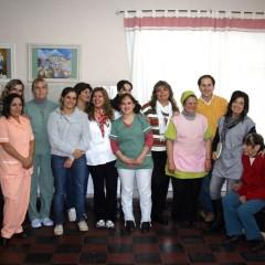 Hogar de Ancianos: Se presentó al equipo interdisciplinario