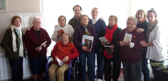 Extensión de la biblioteca al Hogar de Ancianos