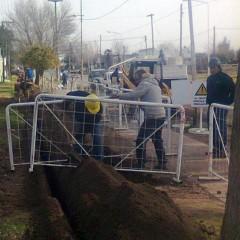 El municipio comenzó con la ampliación de la red de gas