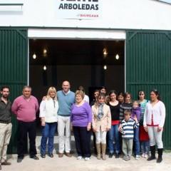 Se inauguró Taller Textil en Arboledas