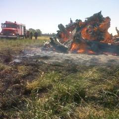 Un incendio afectó varias hectáreas de campo