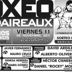 Boxeo en Daireaux