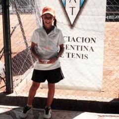 Lourdes Carlé al Sudamericano de Brasil