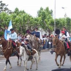 Desfile y fogón