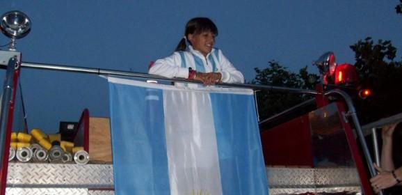 Daireaux recibió a Lourdes Carlé, Campeona Sudamericana