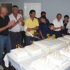 Los Bomberos Voluntarios cerraron su festejo cincuentenario con un gigantesco almuerzo