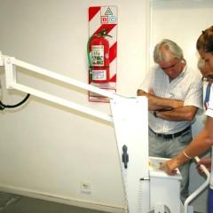 HOSPITAL MUNICIPAL: Se presentó el nuevo equipo portatil de rayos