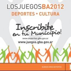 SE ABRIO LA INSCRIPCIÓN PARA LOS JUEGOS BA 2012