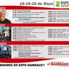EXPO DAIREAUX 2012: PROGRAMA DE ACTIVIDADES