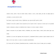 SALUDO DEL INTENDENTE ESTEBAN HERNANDO