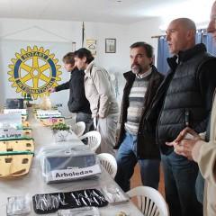EL INTENDENTE RECIBIÓ APARATOLOGÍA DE SALUD DE PARTE DEL ROTARY CLUB