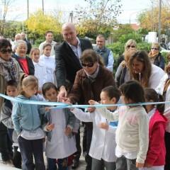 Hernando dejó inaugurada dos aulas construidas con recursos municipales