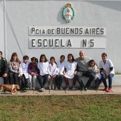 Hernando estuvo presente en las escuelas rurales de La Armonía y Freyre
