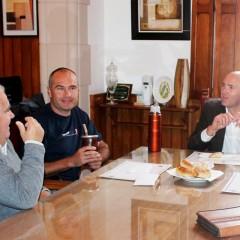 Hernando recibió al Campeón Nacional de Ciclismo Marcelo Koening