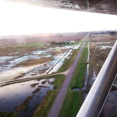Se decretó la emergencia agropecuaria por inundaciones