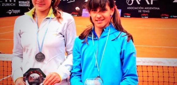 Lourdes Carlé obtuvo su primer punto WTA