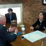 Hernando realizó gestiones para el funcionamiento de una Casa de Justicia en Daireaux