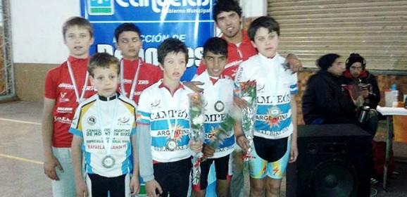 Daireaux tiene tres campeones argentinos en rural bike
