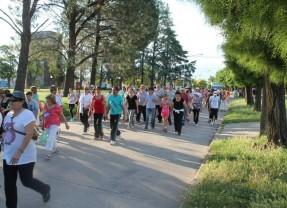 Se llevó a cabo una nueva edición de la Caminata para la Salud