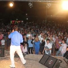 El año comenzó con shows y llenos totales en la Quinta Municipal y la plaza San Martín
