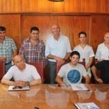 Firmaron su contrato los artistas locales que se presentarán en la Fortinera Deroense 2015