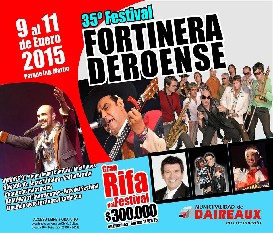 Festival de la Fortinera Deroense 2015