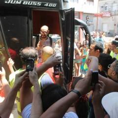 Fortinera 2015: Abel Pintos fue recibido de gran manera en Daireaux