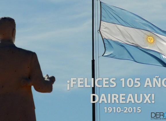 105° Aniversario de la Autonomía Distrital